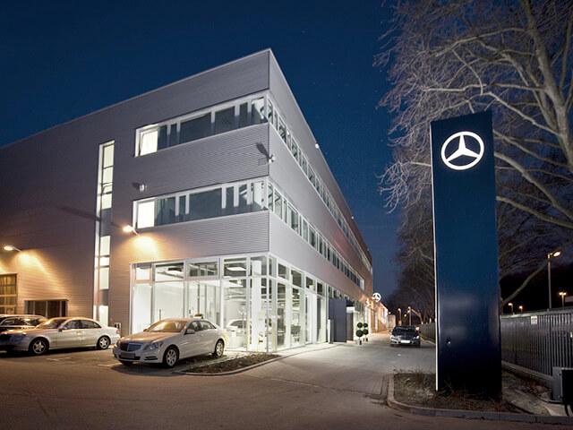 Neubau Autohaus Köln