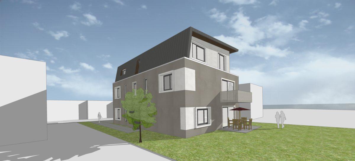 Mehrfamilienhaus mozartstra e schmidt architekten - Schmidt architekten ...