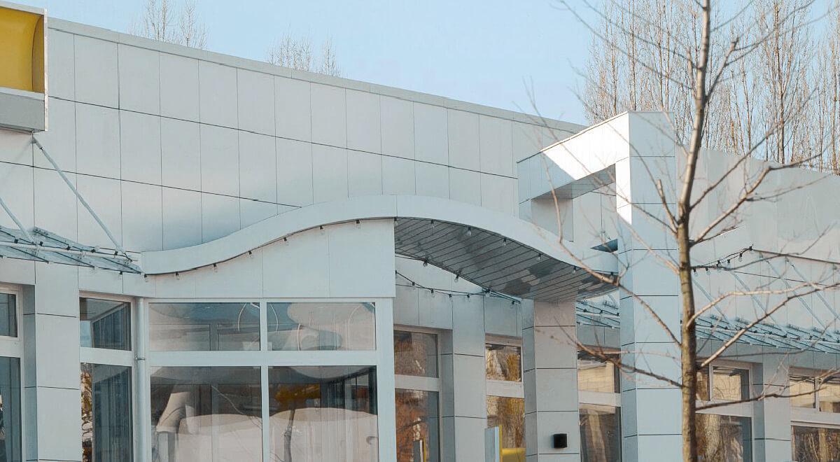 Renault Weißhausstr. Fassade