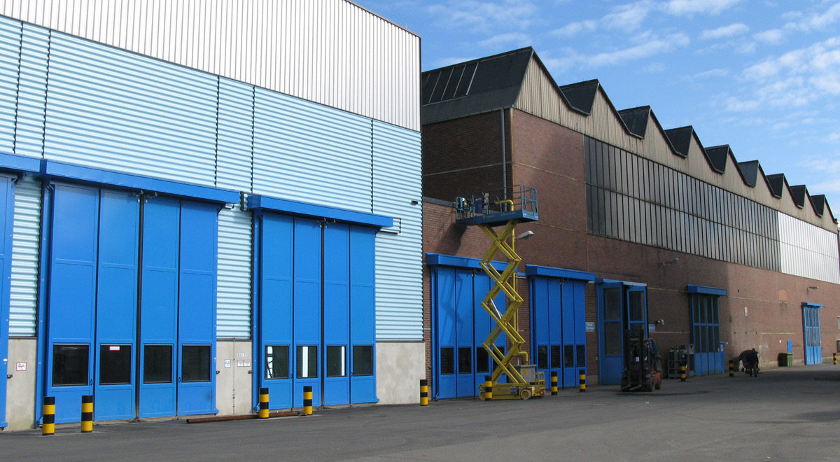 Neubau einer Testhalle von Atlas Copco Energas