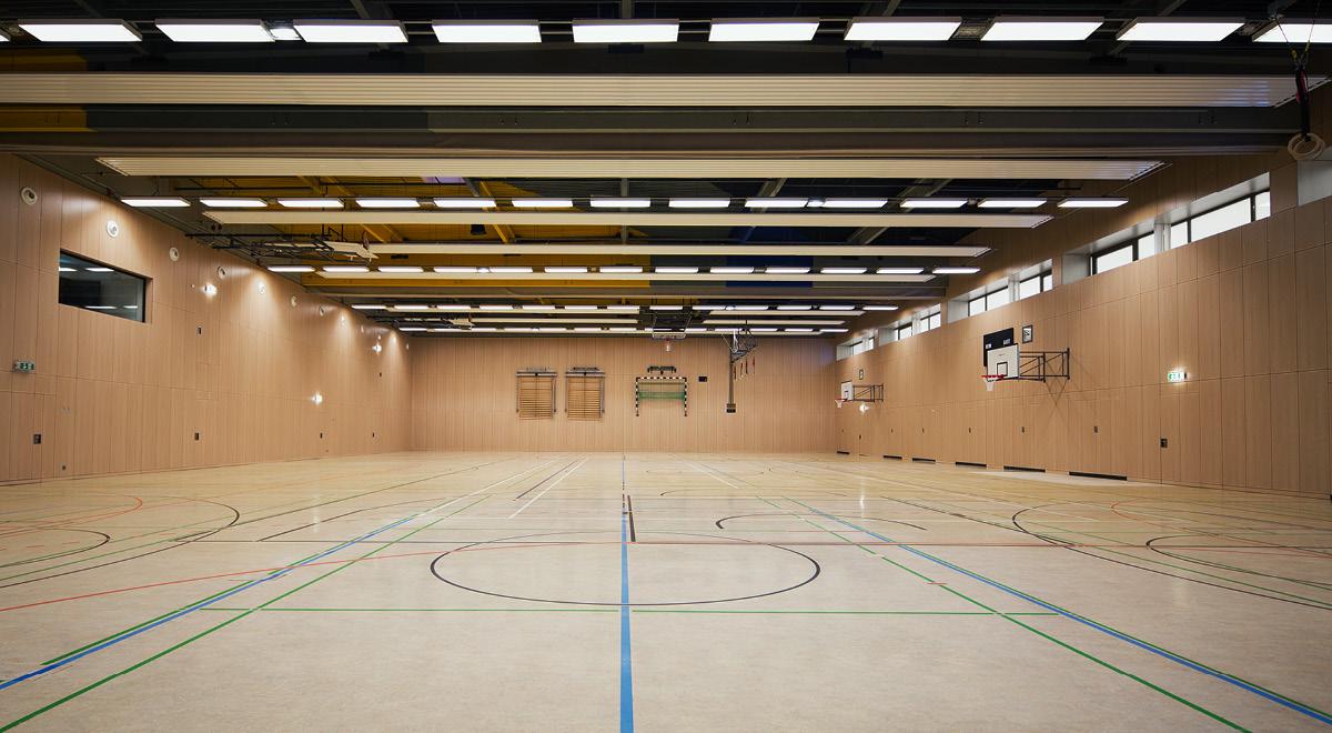 Sporthalle Gesamtschule Holweide