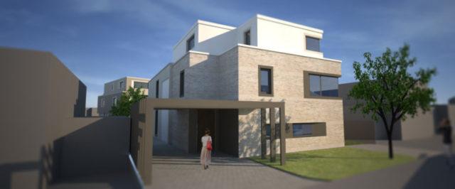 Mehrfamilienhaus am pescher holz schmidt architekten - Schmidt architekten ...